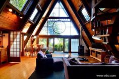 Fotos de interiores de casas alpinas