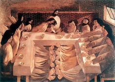 Spencer, Stanley (1891-1959) - 1920 The Last Supper (Stanley Spencer Gallery, Cookham, England) by RasMarley, via Flickr