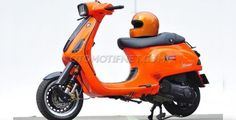 Modifikasi Vespa S 150 Hadirkan Nuansa Balap Custom Vespa, Vespa Sprint, Motocross, Motorcycles, Bike, Orange, Photography, Design, Vespas