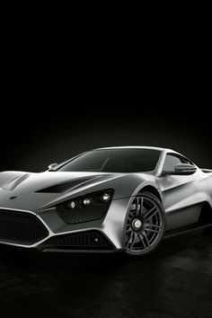 ♂ Car Silver Zenvo #vehicle #wheels