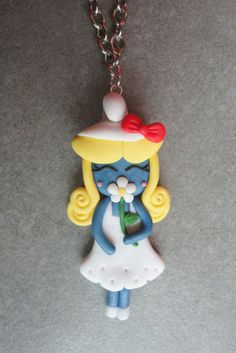 Handmade fimo clay no mouds Cinderella by LeChicchediChicca, €15.00
