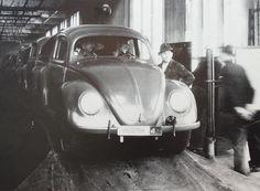 early postwar VW split window photo