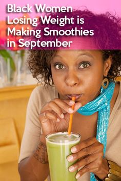 September Challenge – The 30 Day Smoothie Challenge | Black Weight Loss Success