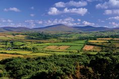 This is the real countryside of Northern Ireland: Tyrone is teaming with lush fields and picturesque rivers.
