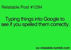 Glad for Google.