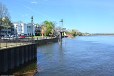 Bristol Waterfront at the Delaware River.