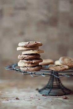 Biscuits, via Cookies Galletas Cookies, Sugar Cookies, Chocolate Chip Cookies, Chocolate Biscuits, Chocolate Chips, Chocolate Cake, Cookies Healthy, Delicious Desserts, Yummy Food