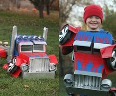 real transforming costume