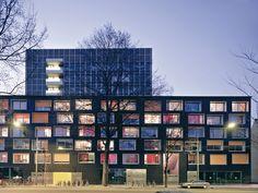 Student Hall of Residence in Amsterdam, Claus en Kaan Architecten
