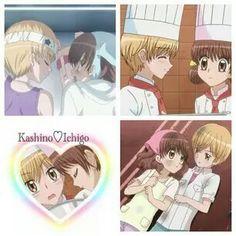 Imagem de anime, yumeiro patissiere, and kashino