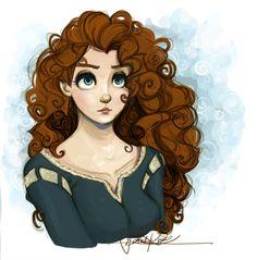 Merida by Curly-Qs.deviantart.com on @deviantART