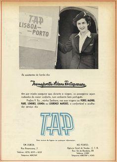 Todos os tamanhos | Publicidade à TAP | Advertising TAP | Flickr – Compartilhamento de fotos! Vintage Advertising Posters, Vintage Advertisements, Vintage Posters, Old Scool, Old Pub, Branding, Poster Pictures, Vintage Pins, Identity