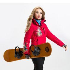 Waterproof Ski Jacket Women Snow Jacket  Brand Winter Thicken Warm Snowboard Jacket Climbing Snow Skiing Clothes  #Affiliate