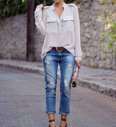 Jeans and shirt