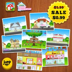 Little House Decorator - iPad #kidapp is discounted for a limited time! https://itunes.apple.com/us/app/little-house-decorator/id566278824?l=pl&ls=1&mt=8