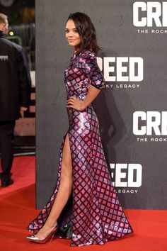 Michael B. Jordan and Ryan Coogler at London premiere of Creed with Tessa Thompson and Sylvester Stallone|Lainey Gossip Entertainment Update