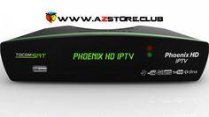 Nova atualização do receptor Tocomsat Phoenix HD IPTV-20.10.2015