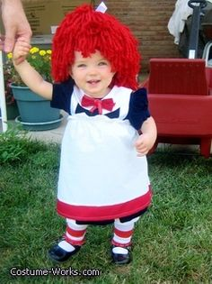Raggedy Ann DIY costume - cute!