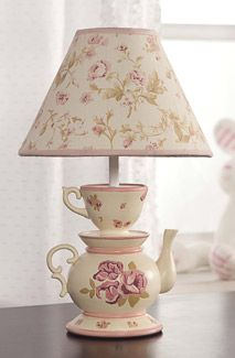 """""""sweet lullaby"""" lamp. too purple but also cute!"""