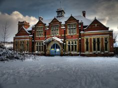 St Marys Asylum - Stannington -(covered in snow) - Jan 2010 -by georgie.