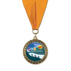 Full Color LFL Award Medal - grosgrain | Hodges Badge Company
