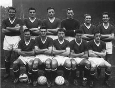 1950s Busby Babes Manchester United Kit