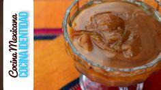 Cómo hacer cajeta de frijol. Postres mexicanos. Yuri de Gortari