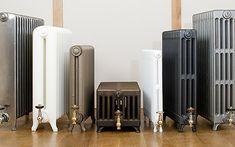 Decoración radiadores antiguos. Decoración con radiadores de hierro fundido