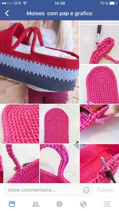 76be186b4c8f Best 12 Doll s Carry Basket Free Crochet Pattern Every little girl would be  delighted to have