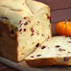 Pão de Laranja e Cranberry | Máquina de Pão