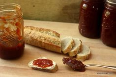 Tomato Peach Balsamic Jam from Emmy Cooks Preserving Tomatoes, Real Food Recipes, Yummy Food, Perfect Peach, Bountiful Harvest, Eat Seasonal, Stone Fruit, Meals In A Jar, Pumpkin Soup