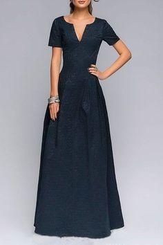 deep navy dress