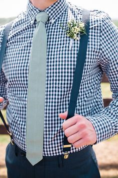 #fatherofthebrideoutfit #father #of #the #bride #outfit #rustic #wedding #father #of #the #bride #outfit Casual Groomsmen Attire, Groom And Groomsmen Style, Groomsmen Looks, Groomsmen Ties, Rustic Wedding Groom, Plaid Wedding, Wedding Bells, Checkered Shirt Outfit, Plaid Shirt With Tie
