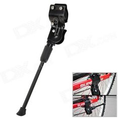 CoolChange KG-BC001 Aluminum Alloy Bicycle Kickstand - Black Price: $12.60