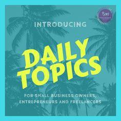http://www.bondiemetchore.com/introducing-daily-topics/