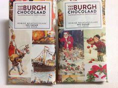 Ze komen er weer aan! De speciale Sinterklaas en Kerst chocoladerepen van @Vanderburghchoc