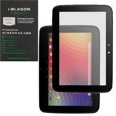 Bubble Free Screen Protector for Google Nexus 10 Inch Tablet