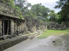 Cool looking courtyards and ancient living areas at Tikal...