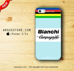 Shoply.com -Bianchi Campagnolo Logo Stripe iPhone Case 5 5s 5c 4 4s. Only $18.99