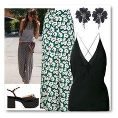 pijama style by myenglishmood on Polyvore featuring STELLA McCARTNEY, Dion Lee, Rochas, Pijama, women's clothing, women's fashion, women, female, woman and misses