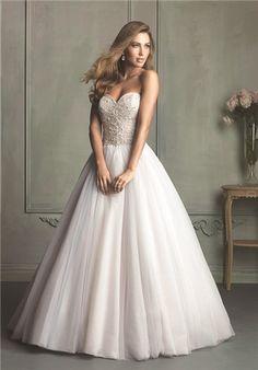Allure Bridals 9126 sweetheart ballgown
