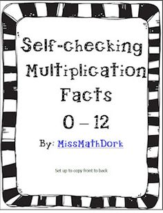 flash cards multiplication beginners