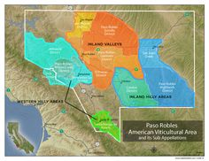 Paso Robles Wine Map - understanding the styles http://winefolly.com/review/understanding-paso-robles-wine-w-maps/