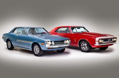 1971 Toyota Celica ST and 1967 Chevrolet Camaro SS