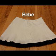 Selling this Bebe mini skirt in my Poshmark closet! My username is: lorriann. #shopmycloset #poshmark #fashion #shopping #style #forsale #bebe #Dresses & Skirts