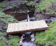 Bamboo Footbridge