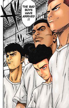 The Bad Boys Have arrived by pcg on DeviantArt Slam Dunk Manga, Black Clover Manga, Gothic Anime, Fullmetal Alchemist, Slammed, Bad Boys, Character Design, Deviantart, Apollo