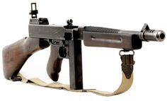 Thompson sub machine gun
