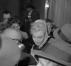 Marilyn Monroe ~ (1926 – 1962) After the Official Announcement of Miller  Monroe divorce. (November 11th  1960)