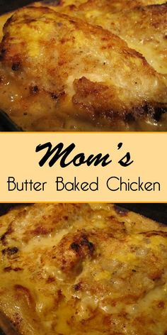 Mom's Butter Baked Chicken - Easy Culinary Concepts dinner recipes with chicken Mom's Butter Baked Chicken - Easy Culinary Concepts Bolo Cake, Def Not, Comfort Food, Empanadas, Food Dishes, Main Dishes, Pasta Side Dishes, The Best, Foodies